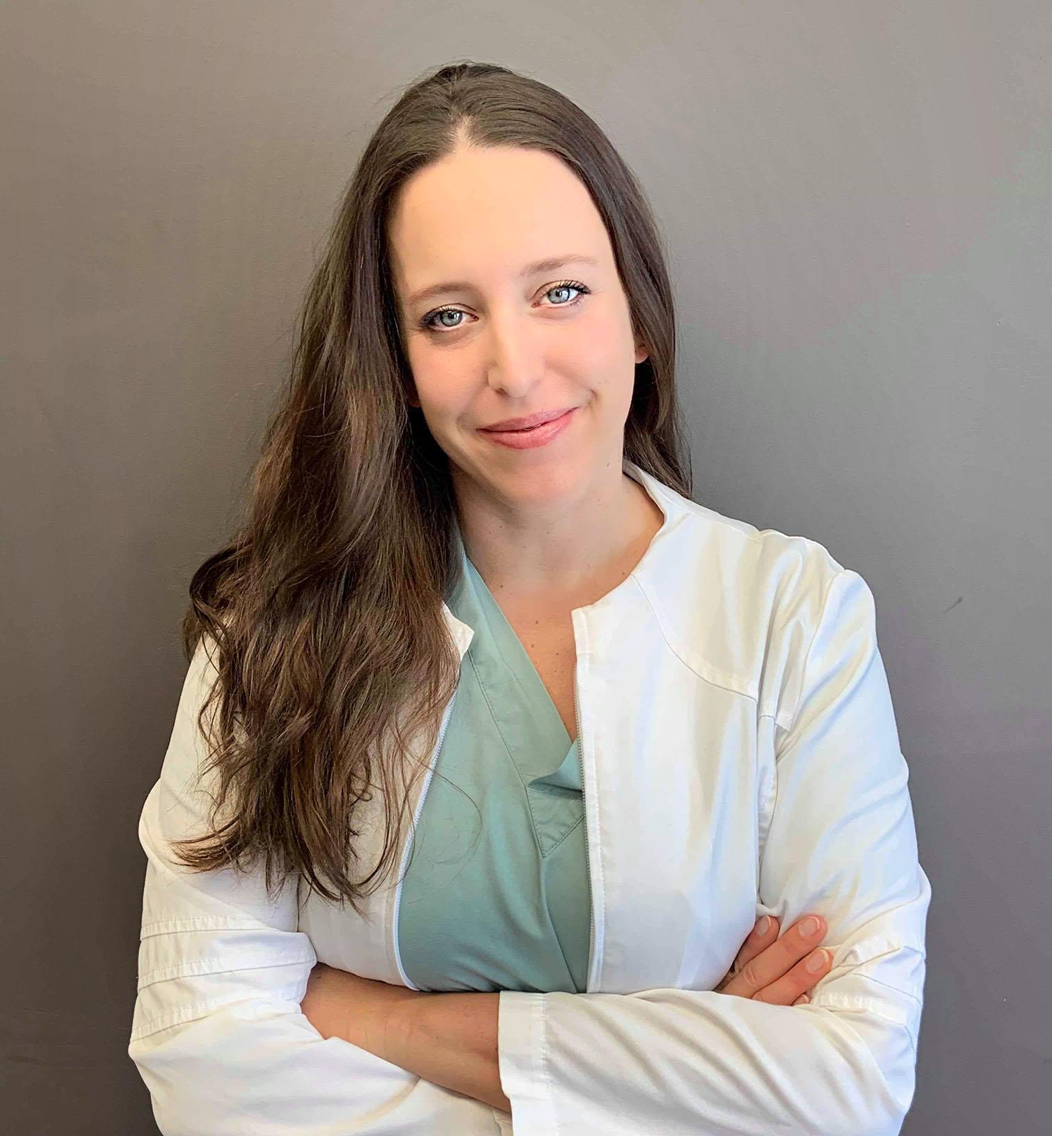 Headshot of Katherine Boulay, embryologist